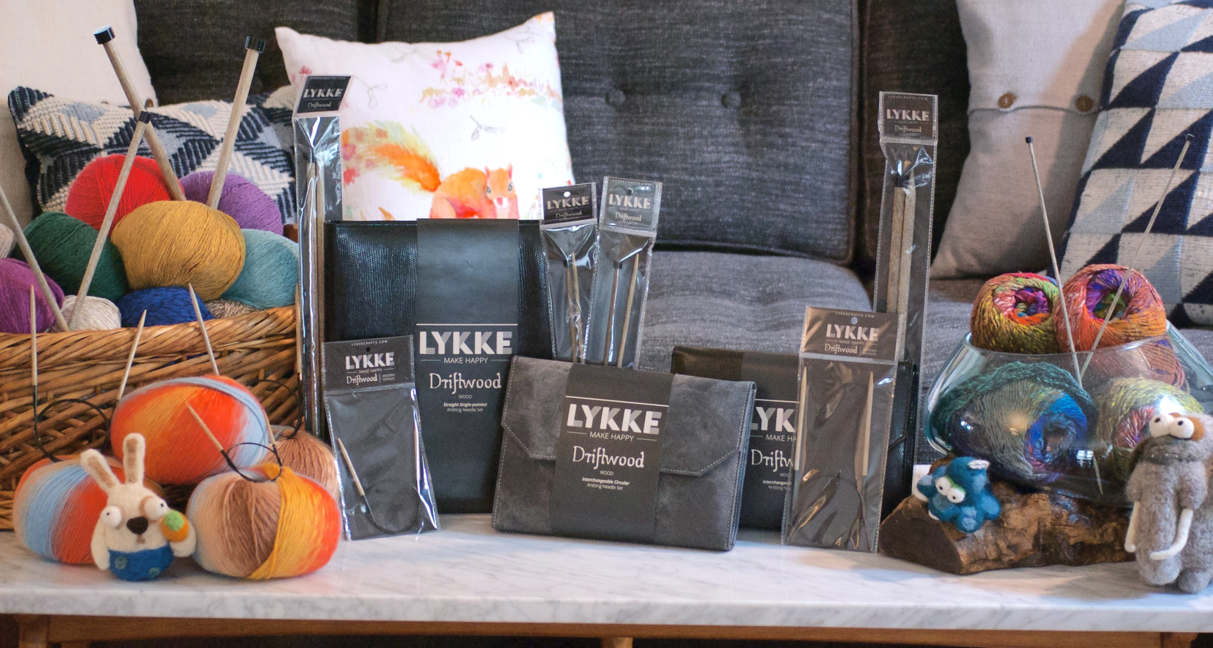 LYKKE Crafts - Make Happy! - Knitting Needles and other